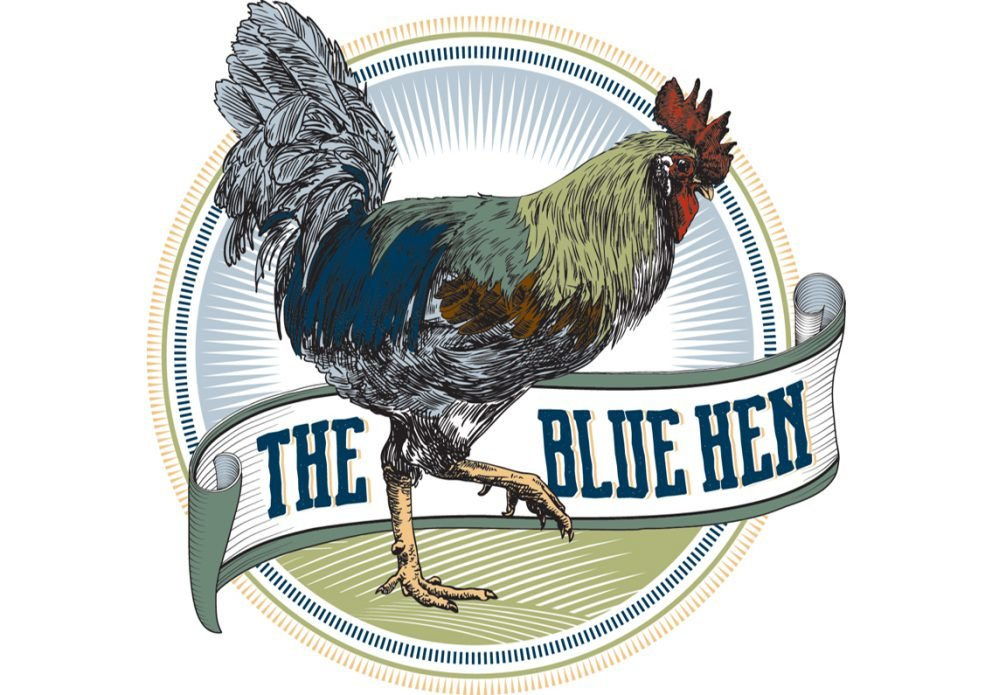 Blue Hen LOGOcrenh