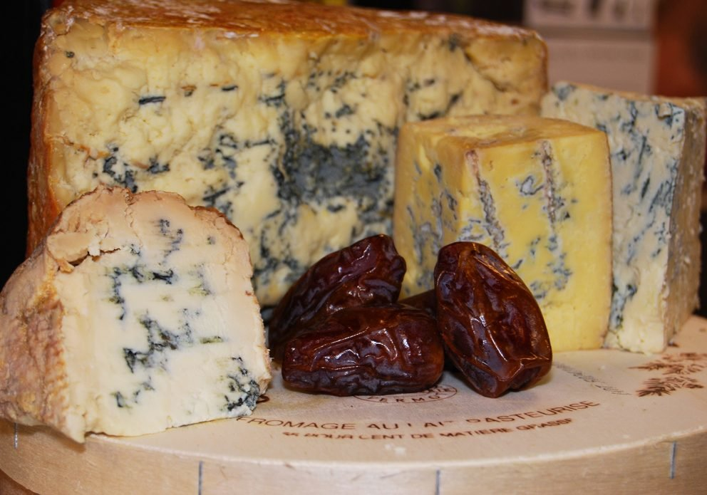 What is blue cheese, and why would I eat moldy cheese just because my spouse said I should? | View More Photos