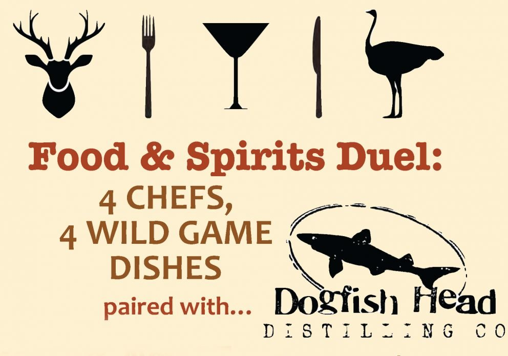 NAGE WILD GAME DUEL CRENH Nov 2016 DFH Food & Spirits 11x17 Poster