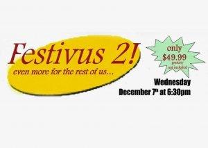 Festivus 2016! 12/7