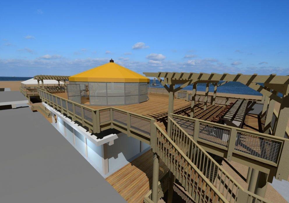 Big Chill Beach Club room rendering closecrenh