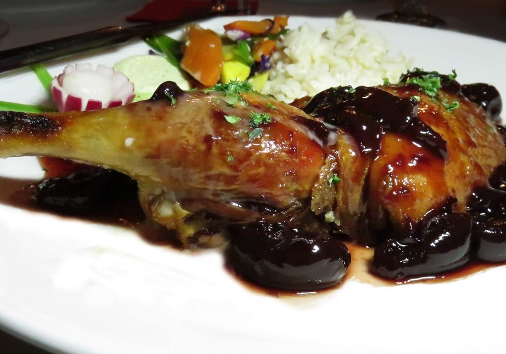 BonAppetit roast duck cherries farcrenhsized