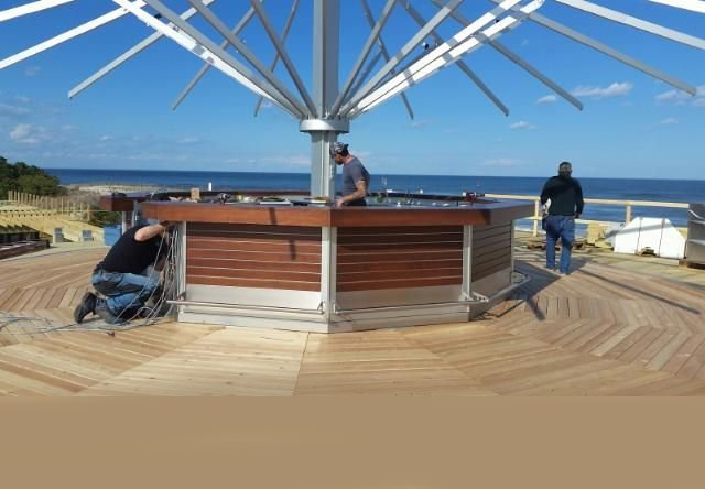 Big Chill Beach Club construction umbroomcrenh