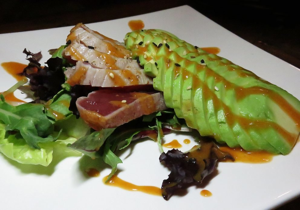 cocolo tuna and avocrenhsized