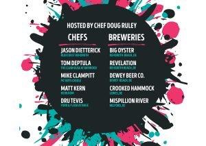 5 Brews! 5 Chefs! 4/26