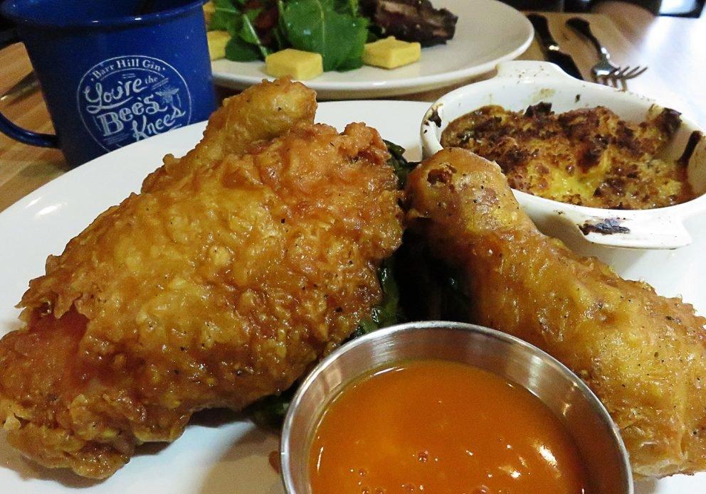 Blue Hen 3 fried amish chixcrenhsized