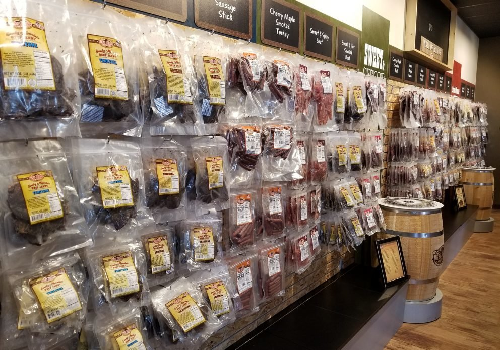 jerky outlet wall displaycrenhsized