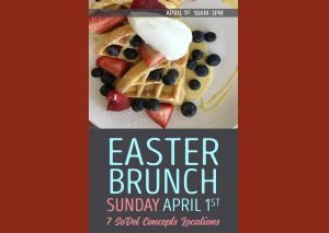 SoDel Concepts Easter Brunches