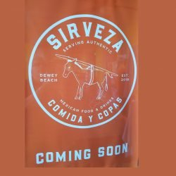 Sirveza Coming to Dewey