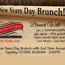 Jazz Brunch New Year's Day