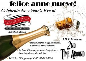 New Year's @ Touch w/ LIVE music
