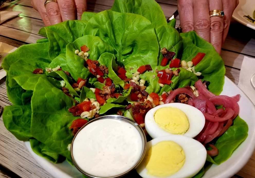 2nd St Tavern 2 saladsized