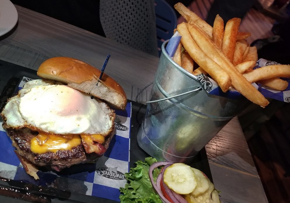 Starboard NEW Burger with eggsized