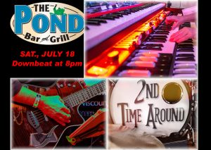 LIVE AT THE POND  7/18
