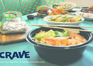 CRAVE Delivery Kitchen OPEN