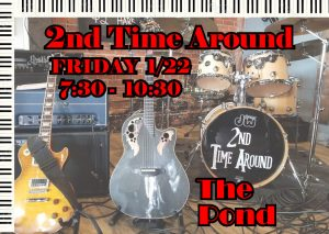 Music @ The Pond Fri. 1/22